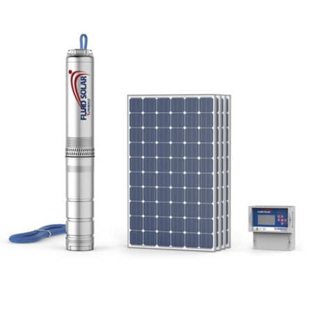 SUBMERSIBLE ELECTRIC SOLAR PUMP 4""